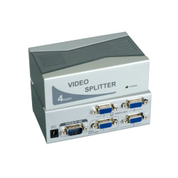 4-Port VGA Video Splitter, Videobandbreite 350MHz