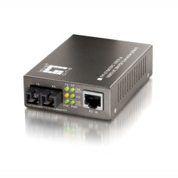 Media Konverter Fast Ethernet für PoE,