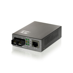 Media Converter Fast Ethernet for PoE,