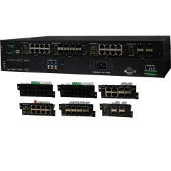 IGS-5400, Modular L2 Managed Gigabit Ethernet Switch