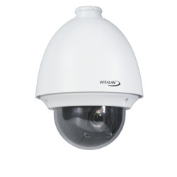 INFRALAN® Security 2MP Speed-Dome IP Innen/Außenkamera, AC24V, 20x Zoom