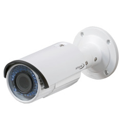 INFRALAN® Security 4MP Bullet IP Innen/Außenkamera, PoE, DC12V, Motorzoom
