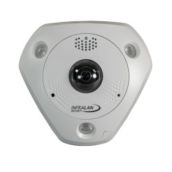 INFRALAN® Security 6MP Fisheye Kamera Indoor/Outdoor, Heatmap