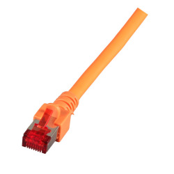 RJ45 Patchkabel S/FTP, Cat.6, LSZH, orange