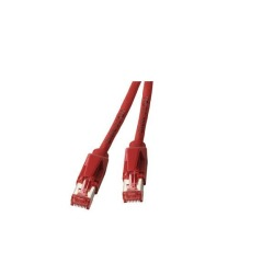 RJ45 Patchkabel S/FTP, Cat.6A, TM21, UC900, rot
