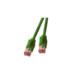 RJ45 Patchkabel S/FTP, Cat.6A, TM21, UC900, grün