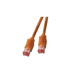 RJ45 Patchkabel S/FTP, Cat.6A, TM21, UC900, orange
