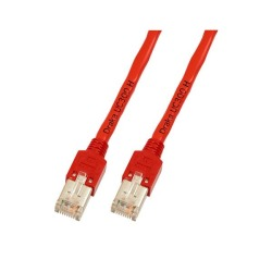 RJ45 Patchkabel F/UTP, Cat.5e, TM11, UC300, rot