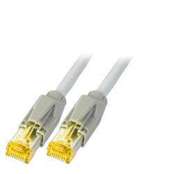 RJ45 Patchkabel S/FTP, Cat.6A, TM31, UC900, grau