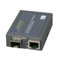 MCT-3512SFP-DR, Kompakt Managed Gigabit Media Konverter