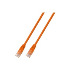 RJ45 Patchkabel U/UTP, Cat.5e, PVC, CCA, orange
