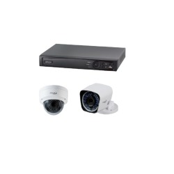 INFRALAN® Security PoE IP-Komplettset 4C