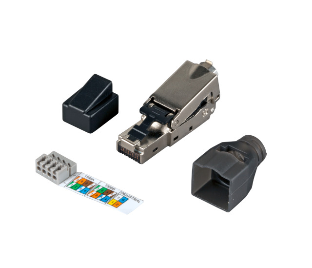 rj45 stecker stp cat 6 feldkonfektionierbar efb elektronik online shop. Black Bedroom Furniture Sets. Home Design Ideas