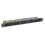 "ISDN Patchpanel 19"" 1HE 50Port, ungeschirmt, Cat.3"