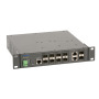 FOS-3110, 10-Port L2 Managed Gigabit Ethernet Fiber Switch, 8x 100/1000 SFP, 2x Combo RJ45/SFP