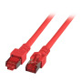 RJ45 Patchkabel S/FTP, Cat.6, LSZH, rot