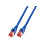 RJ45 Patchkabel S/FTP, Cat.6, LSZH, blau