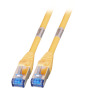 RJ45 Patchkabel S/FTP, Cat.6A,500MHz, 1, 5m, gelb