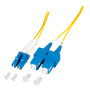 Duplex Jumper LC-SC 9/125µ, OS2, 1,2mm