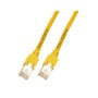 RJ45 Patchkabel F/UTP, Cat.5e, TM11, UC300, gelb